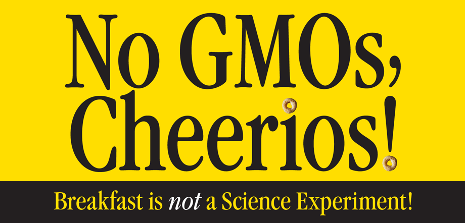 GMO Inside presents: No GMOs, Cheerios! Campaign Video
