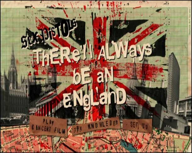 Sex pistols there always be an england
