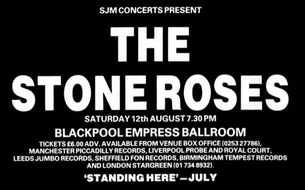 The Stone Roses - Live In Blackpool 1989