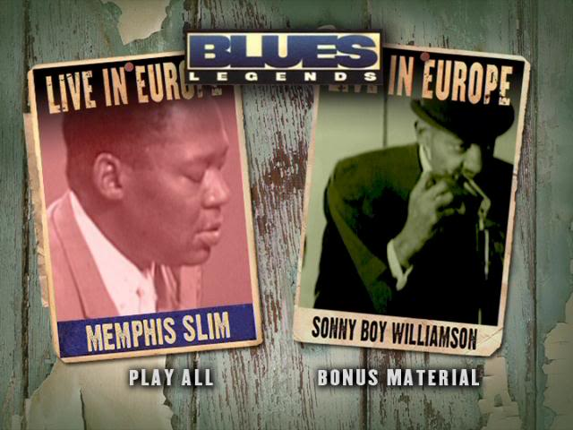 Memphis Slim & Sonny Boy Williamson - Blues Legende Live In Europe