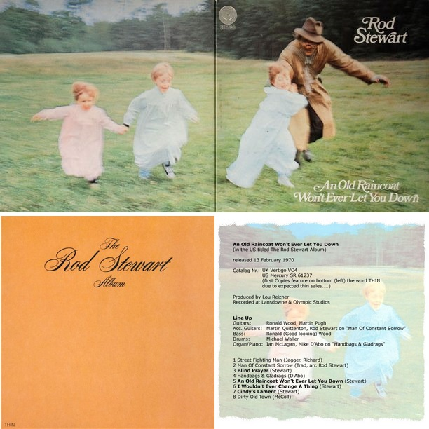 Rod Stewart - An Old Raincoat Won't Ever Let You Down (Album, 1969)
