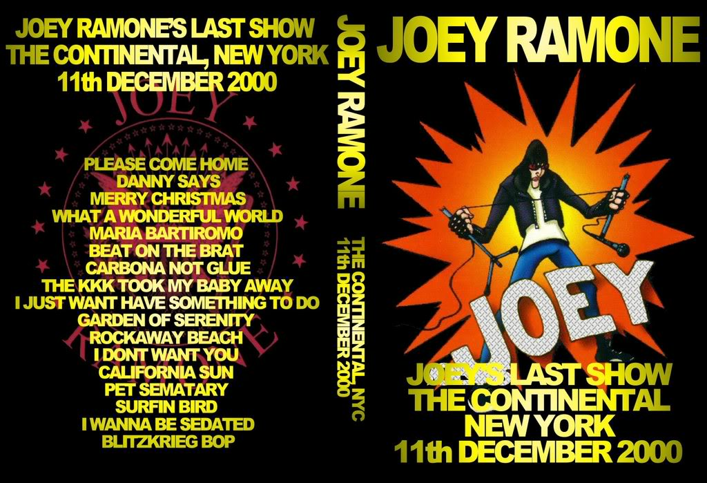 Joey Ramone - The Last Show, Live at The Continental NYC 2000