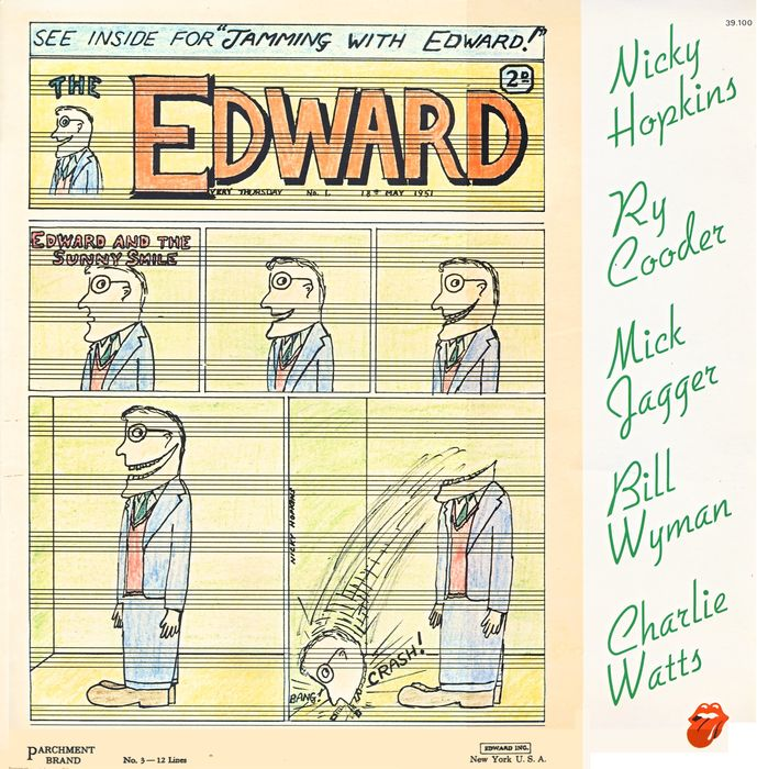 Charlie Watts, Mick Jagger, Bill Wyman, Nicky Hopkins, Ry Cooder - Jamming with Edward! (Album 1969)