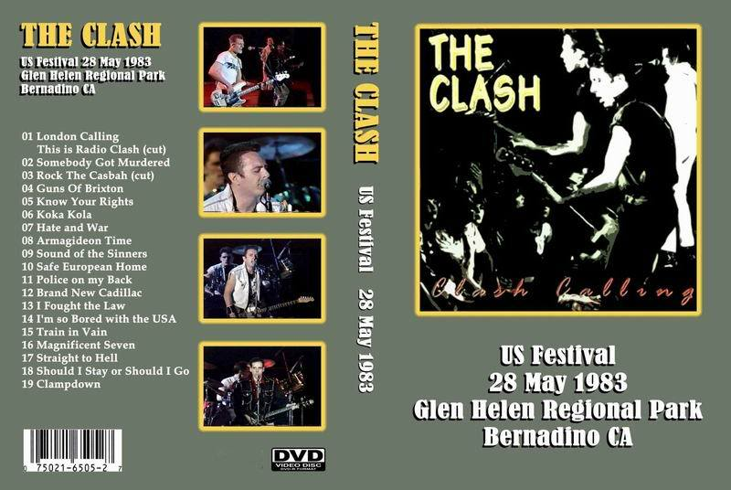 The Clash - US Festival, Bernardino 1983