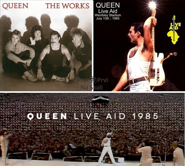 Queen - The Works (Album 1984, Remaster 2011); Live Aid 1985