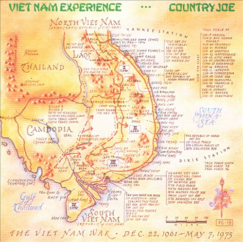 Country Joe McDonald - Vietnam Experience (Album 1995)