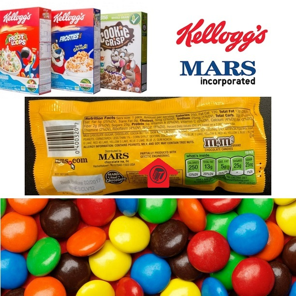 Kellogg's and Mars Begin Labeling GMO Products