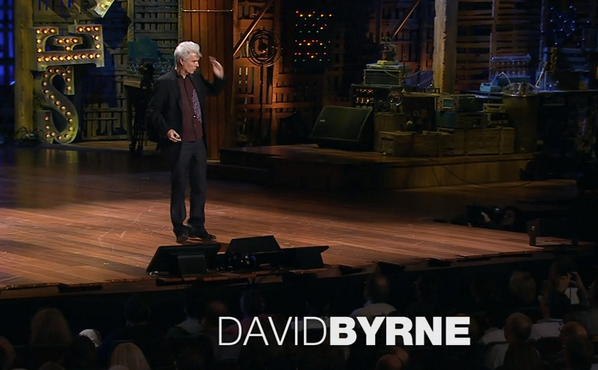 David Byrne - How architecture helped music evolve