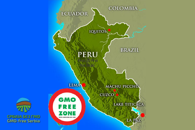 Moratorijum na GMO u Peruu do 2021.