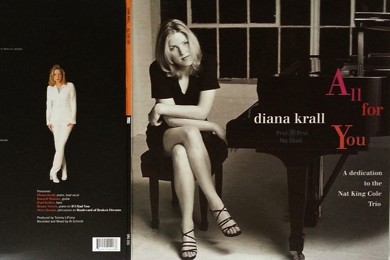 Diana Krall - All for You, A Dedication to the Nat King Cole Trio (Album 1996)
