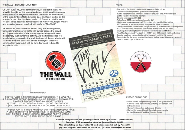 Roger Waters - The Wall Live In Berlin, 21. jul 1990.