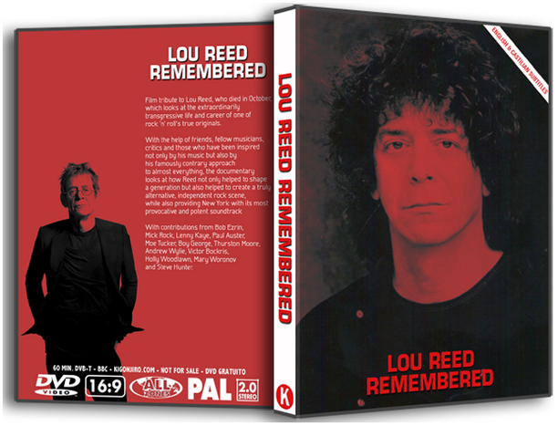 Lou Reed Remembered - Documentary BBC 2013