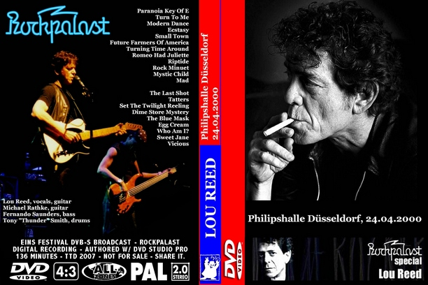 Lou Reed - Dusseldorf, Germany 2000
