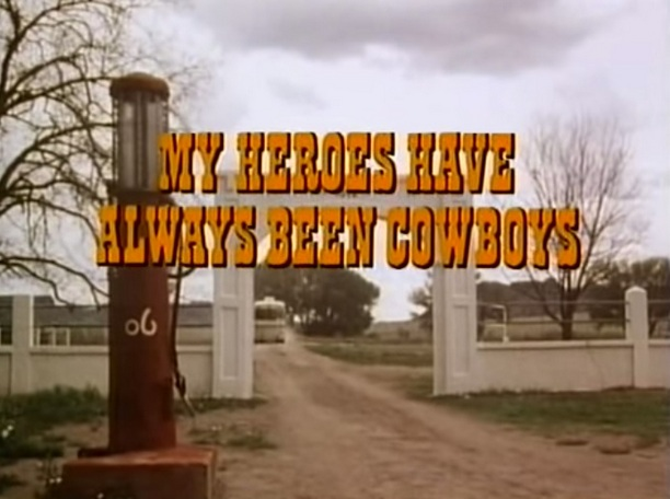 My Heroes Have Always Been Cowboys, a musical documentary with Waylon Jennings