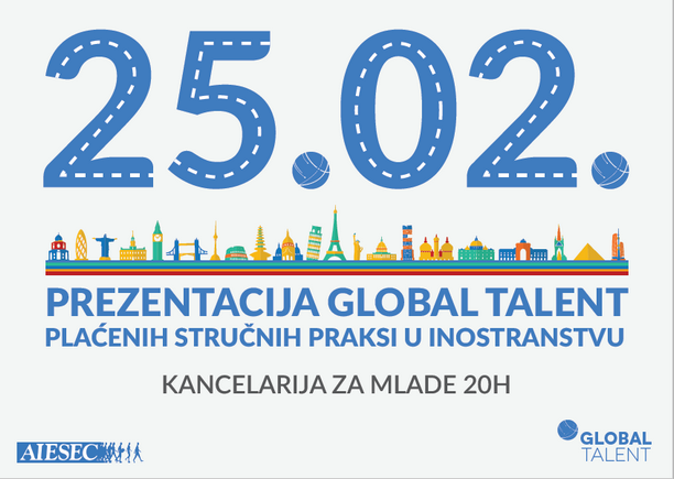 Prezentacija stručnih praksi 'Global talent'