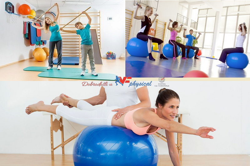 VF Physical: Fizikalna terapija - kineziterapija